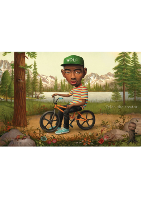 "Tyler The Creator - Wolf Hat Poster 36""x24"""