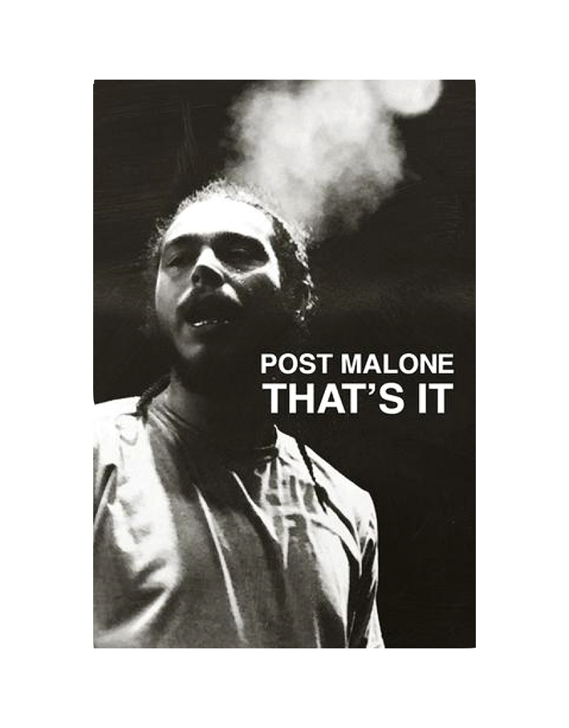 "Post Malone - That's It Poster 24""x36"""