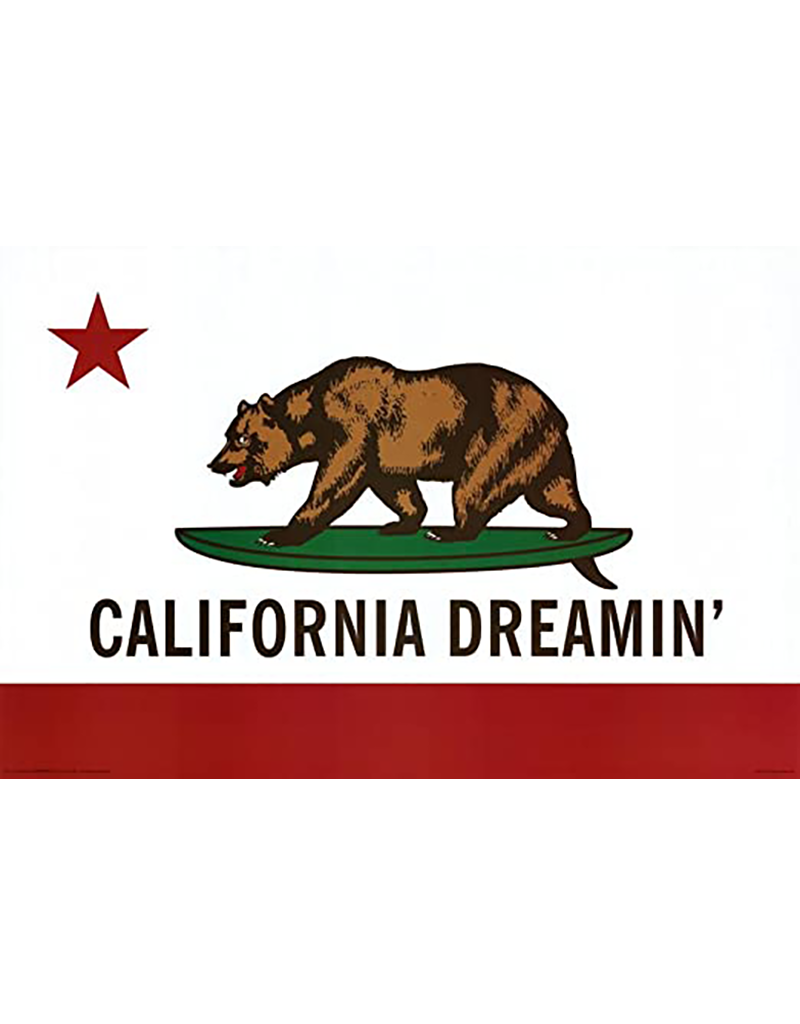 "California Dreamin Poster 36""x24"""