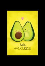 "Avocado - Let's Avocuddle Poster 24""x36"""