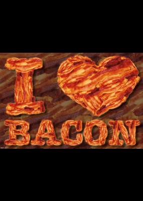 """I Heart Bacon Poster 36""""x24"""""""