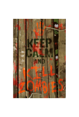 """Keep Calm and Kill Zombies Poster 24""""x36"""""""