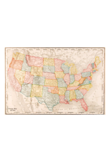 """Map Of USA Poster 36""""x24"""""""
