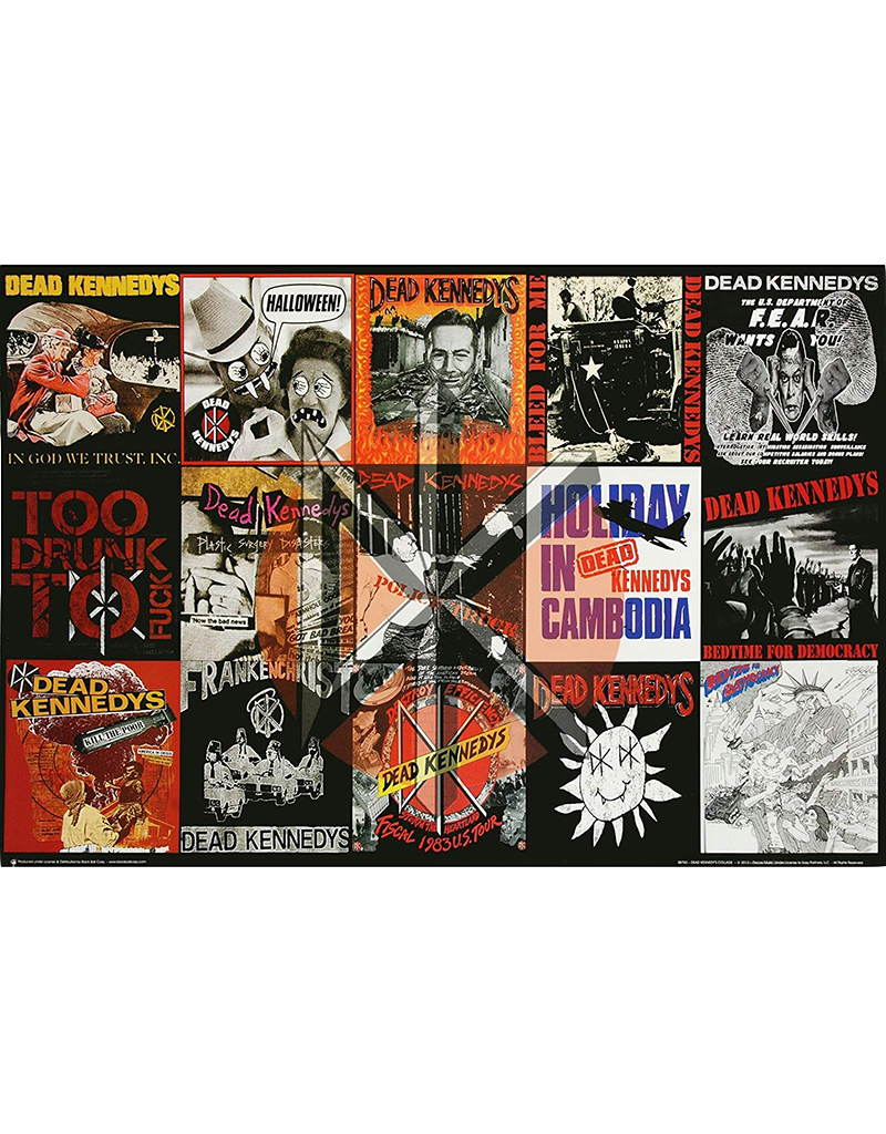 """Dead Kennedys - Collage Poster 36""""x24"""""""