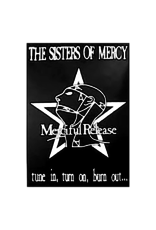 """Sisters Of Mercy - Merciful Release Poster 24""""x36"""""""