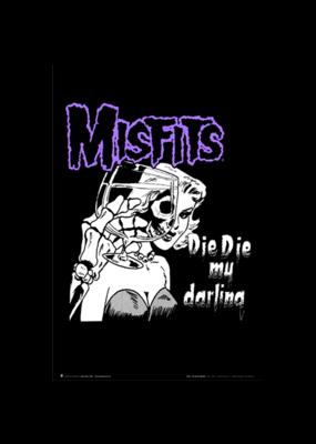 """Misfits - Die Die My Darling Poster 24""""x36"""""""