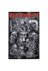 "Iron Maiden - Faces Poster 24""x36"""
