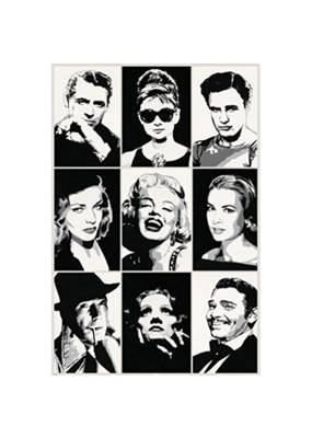"Hollywood Legends Poster 24""x36"""