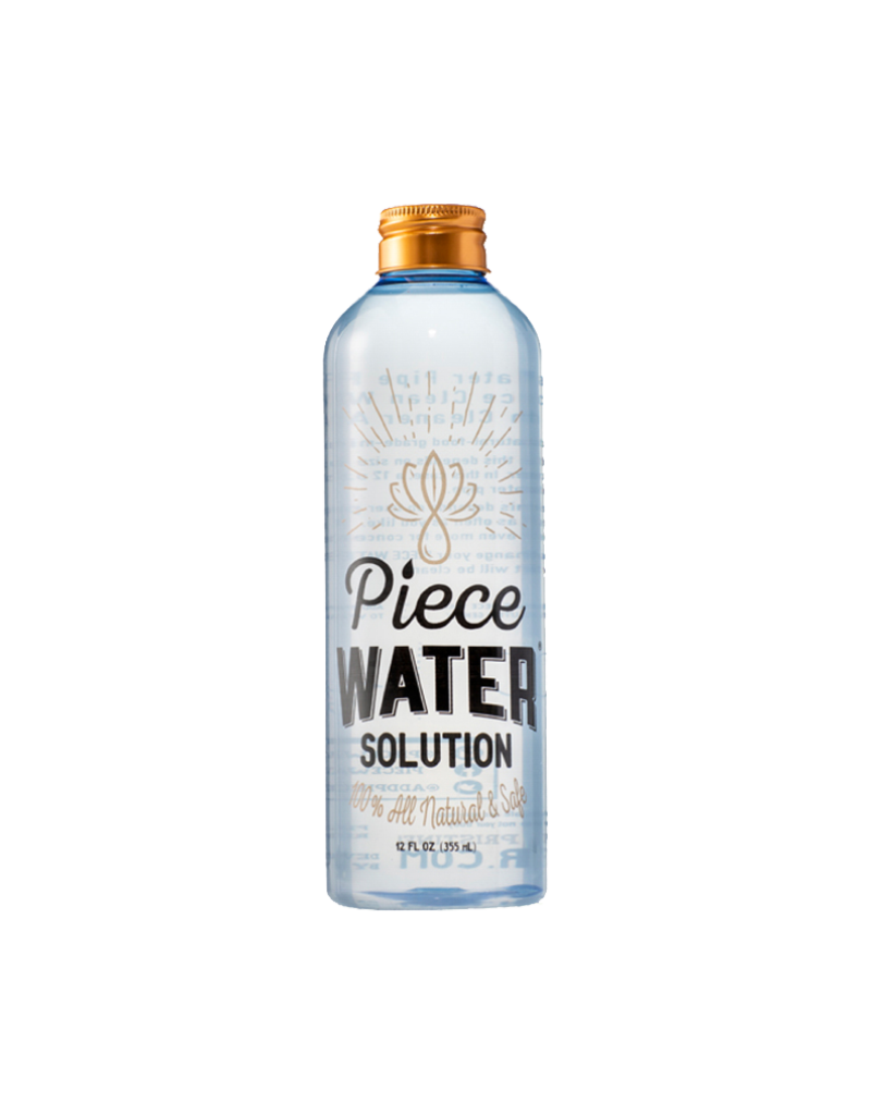 Piece Water Solution 12oz
