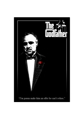 """Godfather - The Don Poster 24""""x36"""""""
