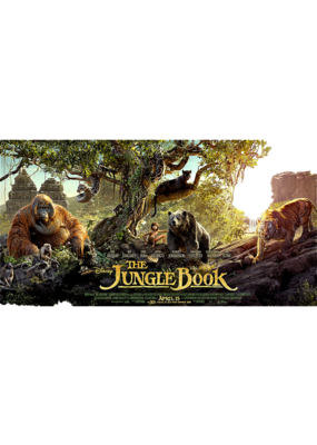"""The Jungle - Book Panoramic Poster 36""""x24"""""""