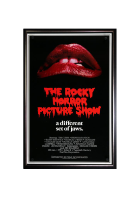 "Rocky Horror Show - A Different Set Of Jaws Poster 12""x16"""