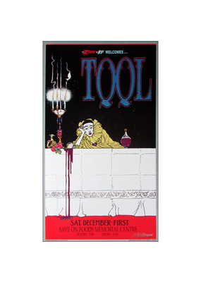 "Bob Masse - Tool Victoria Poster 24""x36"""
