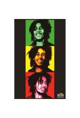 """Bob Marley - Triptych Blacklight Poster 24""""x36"""""""