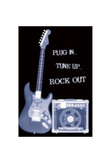 """Plug In Tune Up Rock Out Poster 24""""x36"""""""