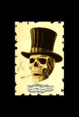 """Skull Smoking Poster 24""""x36"""""""
