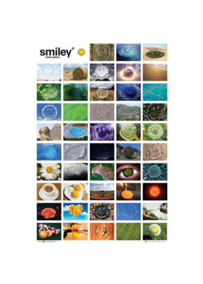 "Smiley Gallery Poster 24""x36"""