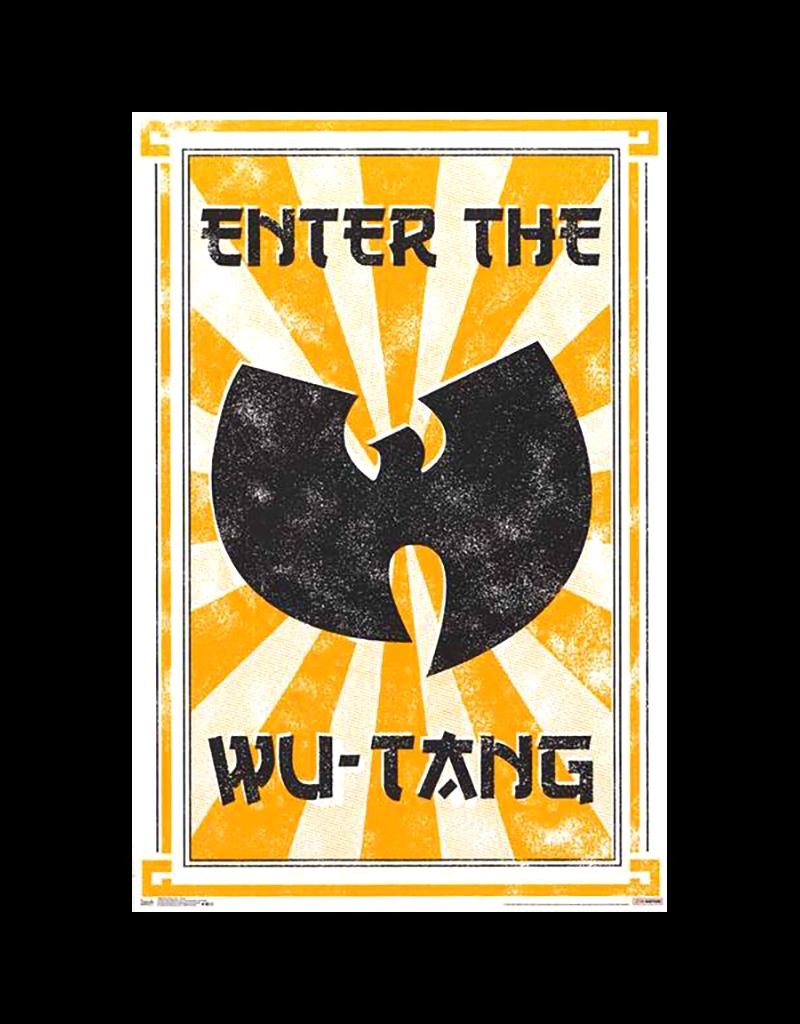 "Wu-Tang Clan - Enter The Wu Poster 24""x36"""