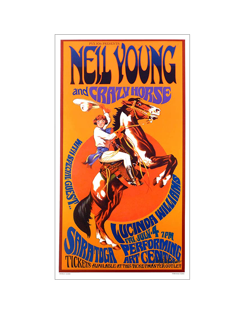 "Bob Masse - Neil Young Poster  24""x36"""
