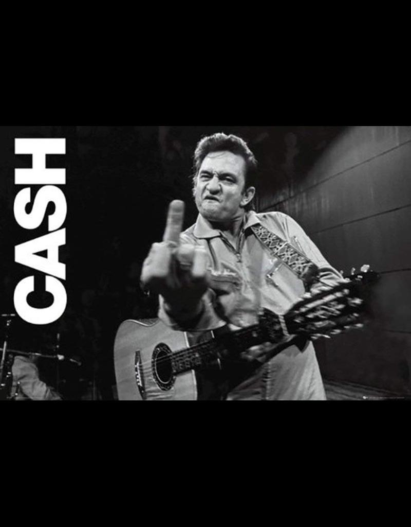 """Johnny Cash - Finger Poster 36""""x24"""""""