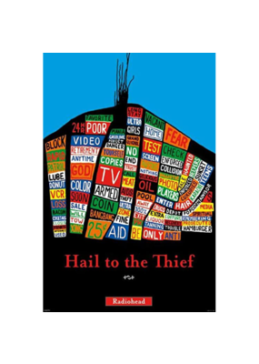 "Radiohead - Hail to The Thief Poster 24""x36"""