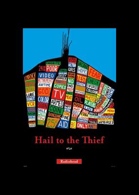 Radiohead - Hail To The Thief Poster