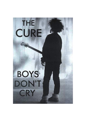 "The Cure - Boys Don't Cry Poster 24""x36"""