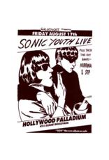 """Sonic Youth - Live Poster 24""""x36"""""""