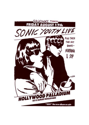 "Sonic Youth - Live Poster 24""x36"""