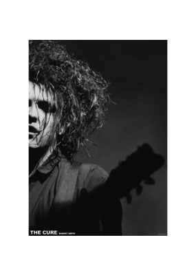 "The Cure - Robert Smith Poster 24""x36"""