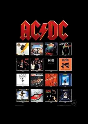 "AC/DC - Album Covers Poster 24""x36"""