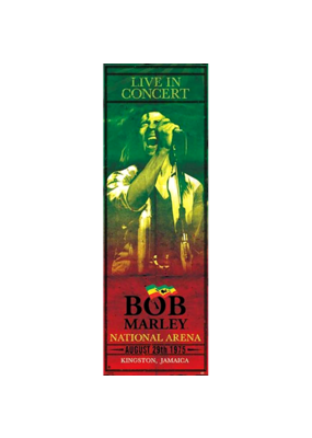 """Bob Marley - Concert Door Poster 21""""x62"""""""