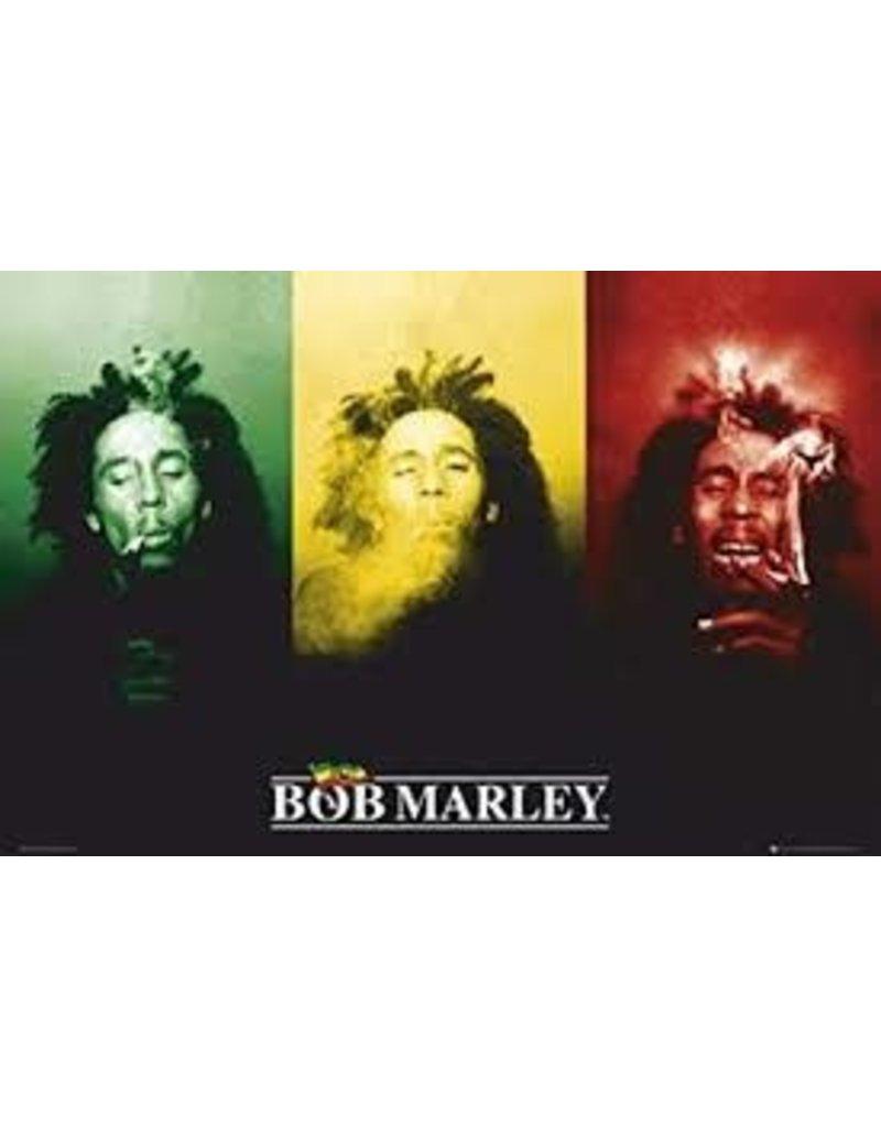 "Bob Marley - Flag Poster 36""x24"""