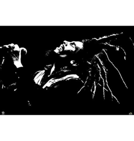"""Bob Marley - Black and White Poster 36""""x24"""""""