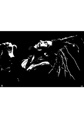 "Bob Marley - Black and White Poster 36""x24"""