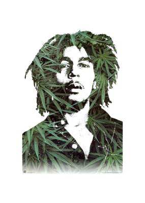 "Bob Marley - Leaves Poster 24""x36"""