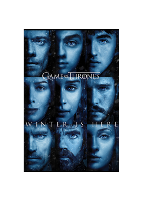 "Game of Thrones - Winter Is Here Poster 24""x36"""