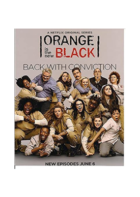 "Orange is the New Black Poster - Back With Conviction 24""x36"""