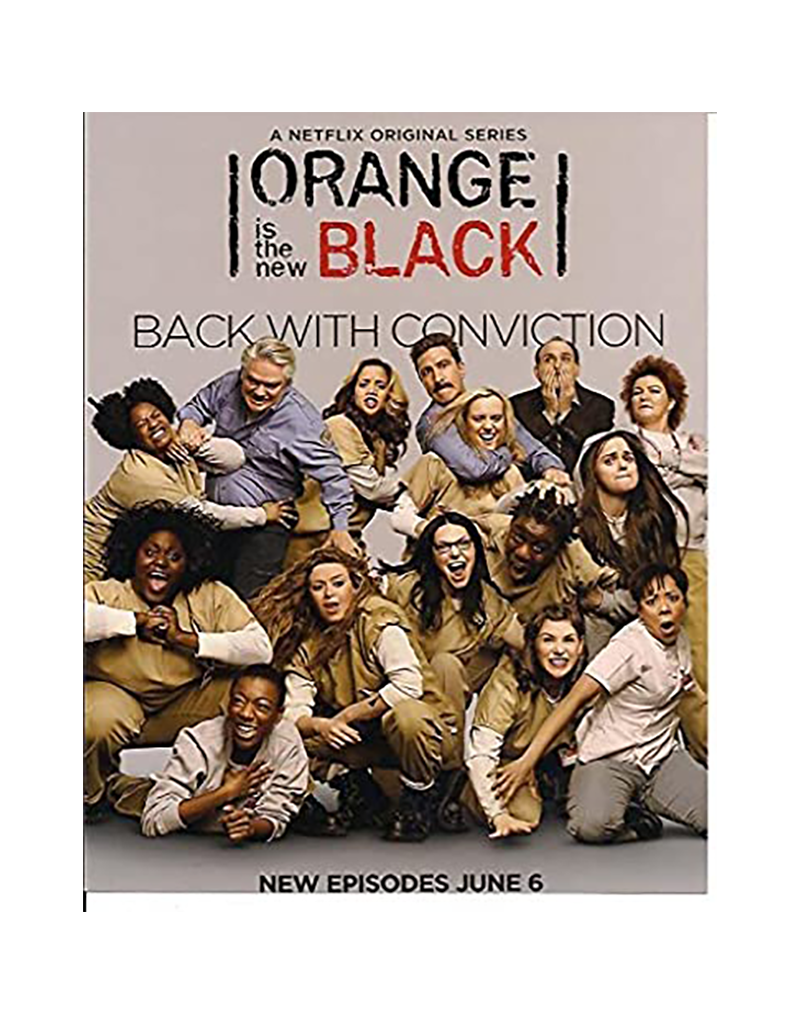 """Orange is the New Black Poster - Back With Conviction 24""""x36"""""""