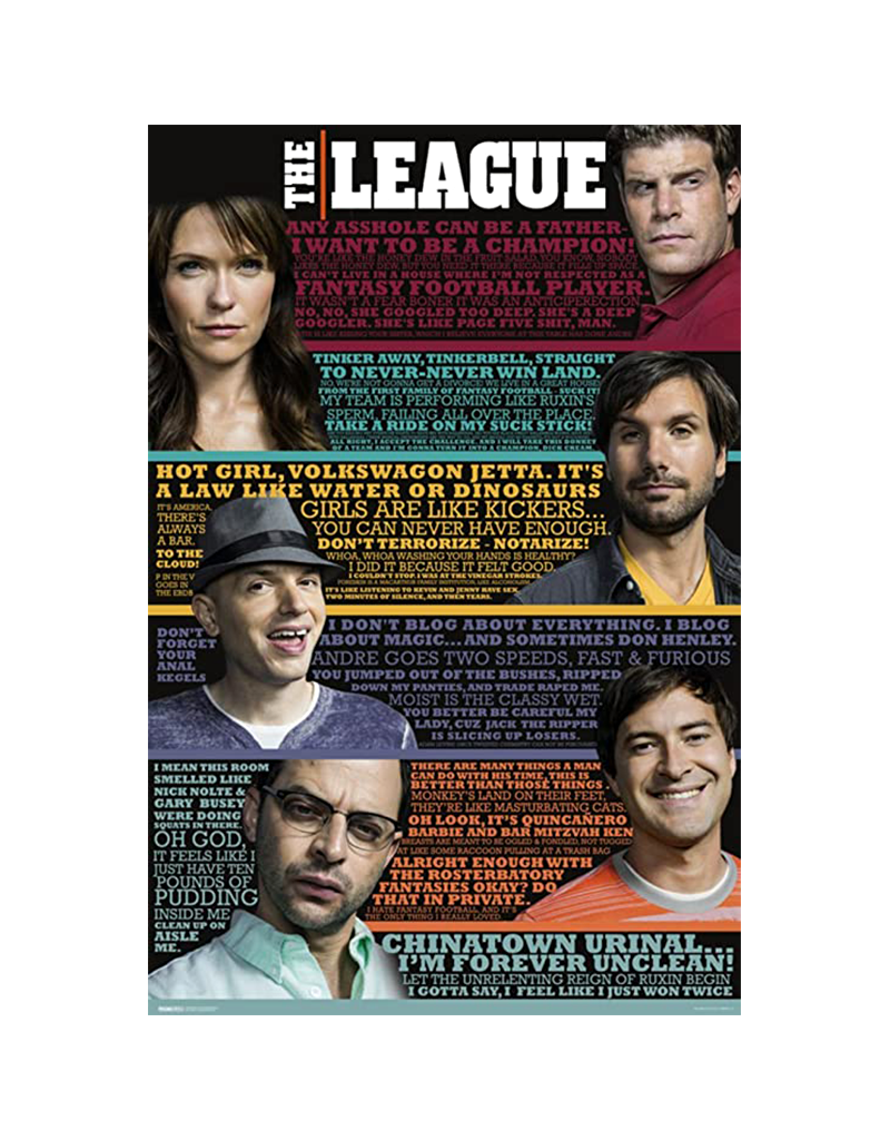 "The League - Quotes Poster 24""x36"""