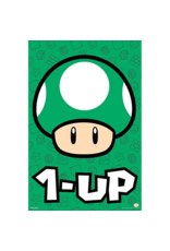 "Mario Bros - 1 Up Poster 24""x36"""