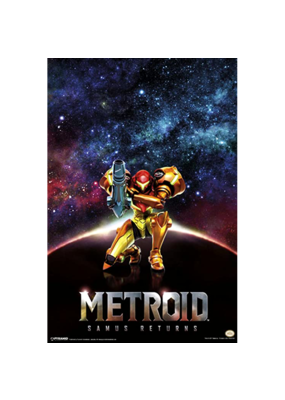 "Metroid - Samus Returns Poster 24""x36"""