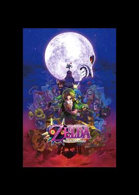 "Zelda - Majora's Mask Poster 24""x36"""