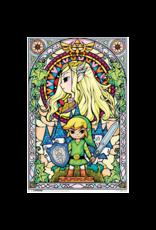 "Zelda - Stained Glass Window Poster 24""x36"""