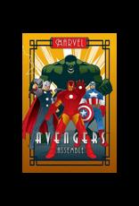 "Avengers - Art Deco Poster 24""x36"""