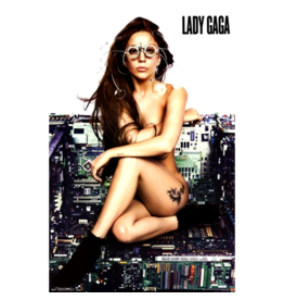 "Lady Gaga - Chair Poster 24""x36"""