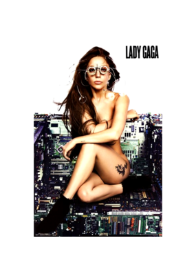 "Lady Gaga - Chair Poster 24""x36"""
