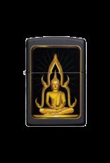 Black Matte Buddha - Zippo Lighter