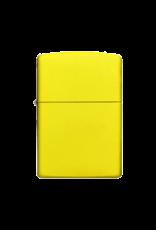 Lemon Matte - Zippo Lighter