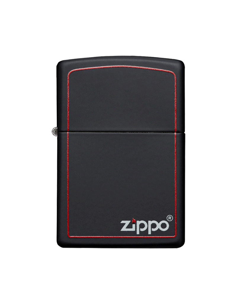 Classic Black and Red - Zippo Lighter